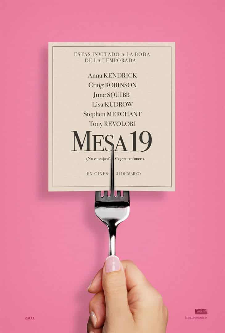 Poster de 'Table 19'