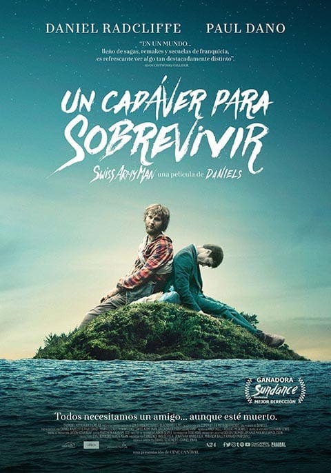 Poster de 'Swiss Army Man'