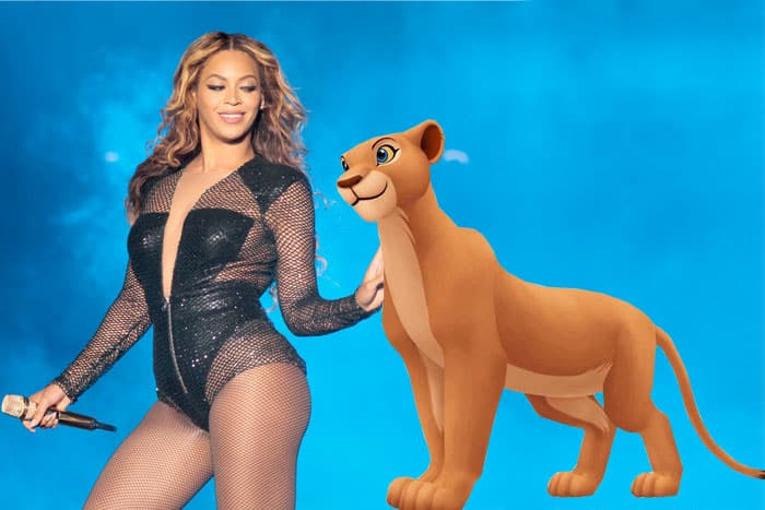 Nala Beyonce El Rey León