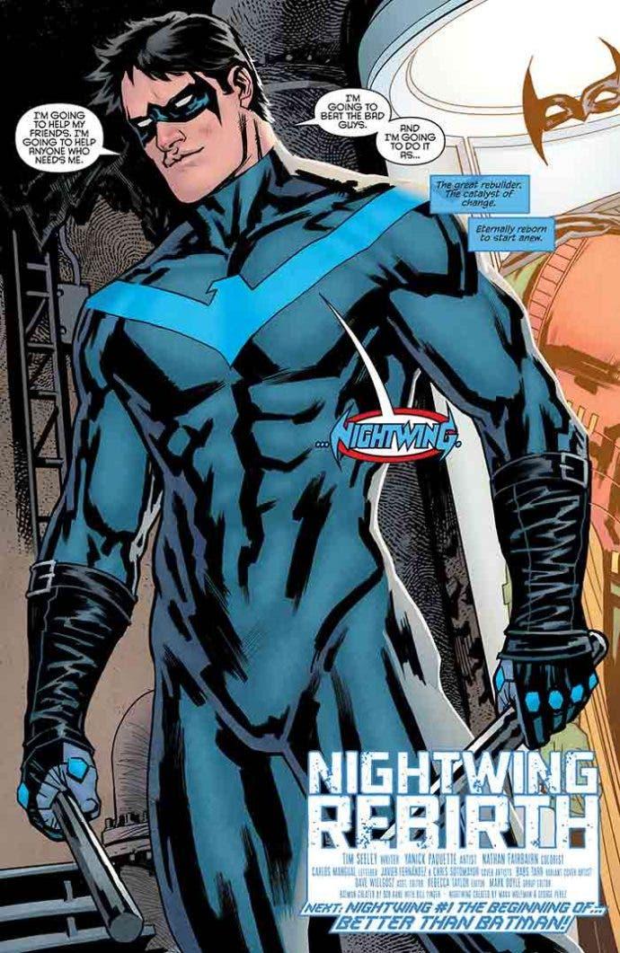 'Nightwing Rebirth' (01): Reseñas de cómics (ECC Ediciones)
