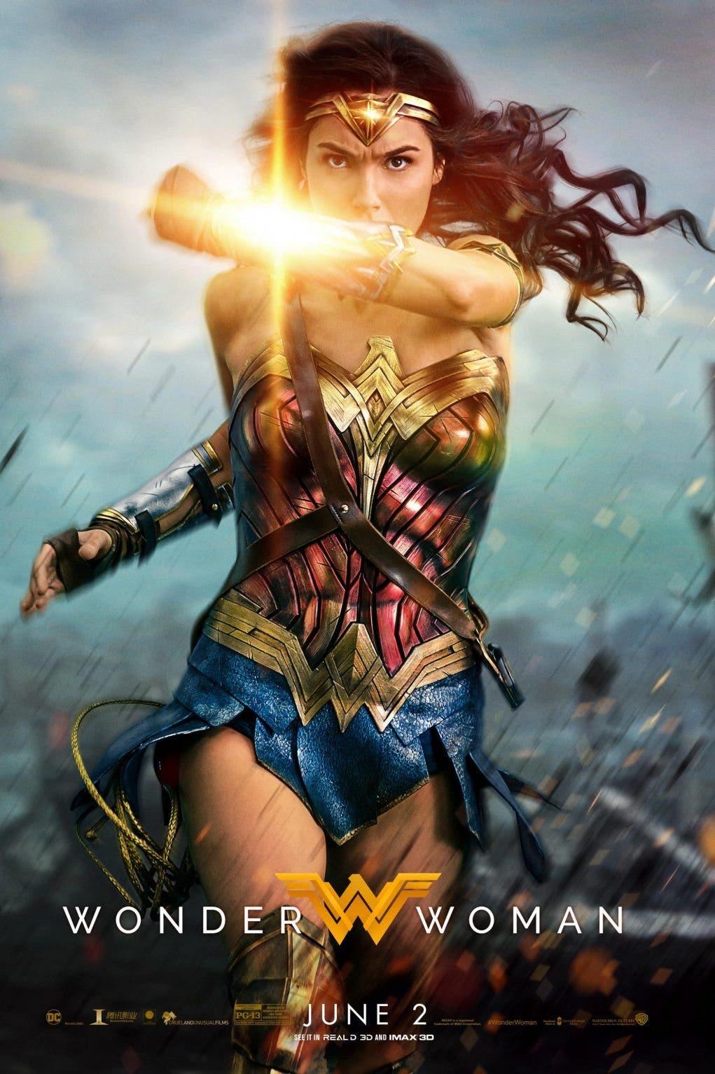 Poster de 'Wonder woman: La Mujer Maravilla'