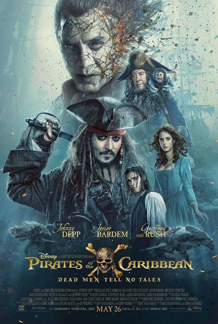 Nuevo tráiler de 'Piratas del Caribe 5'... ¡Con Jack Sparrow joven!