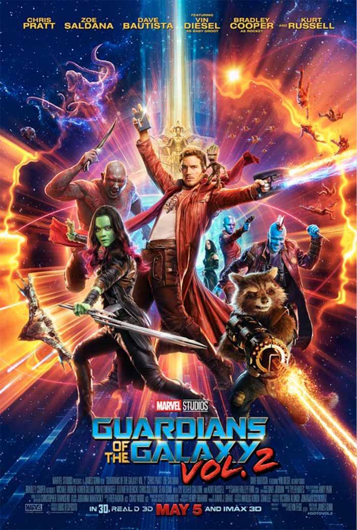 Nuevo póster de Guardianes de la Galaxia 2 al estilo Star Wars