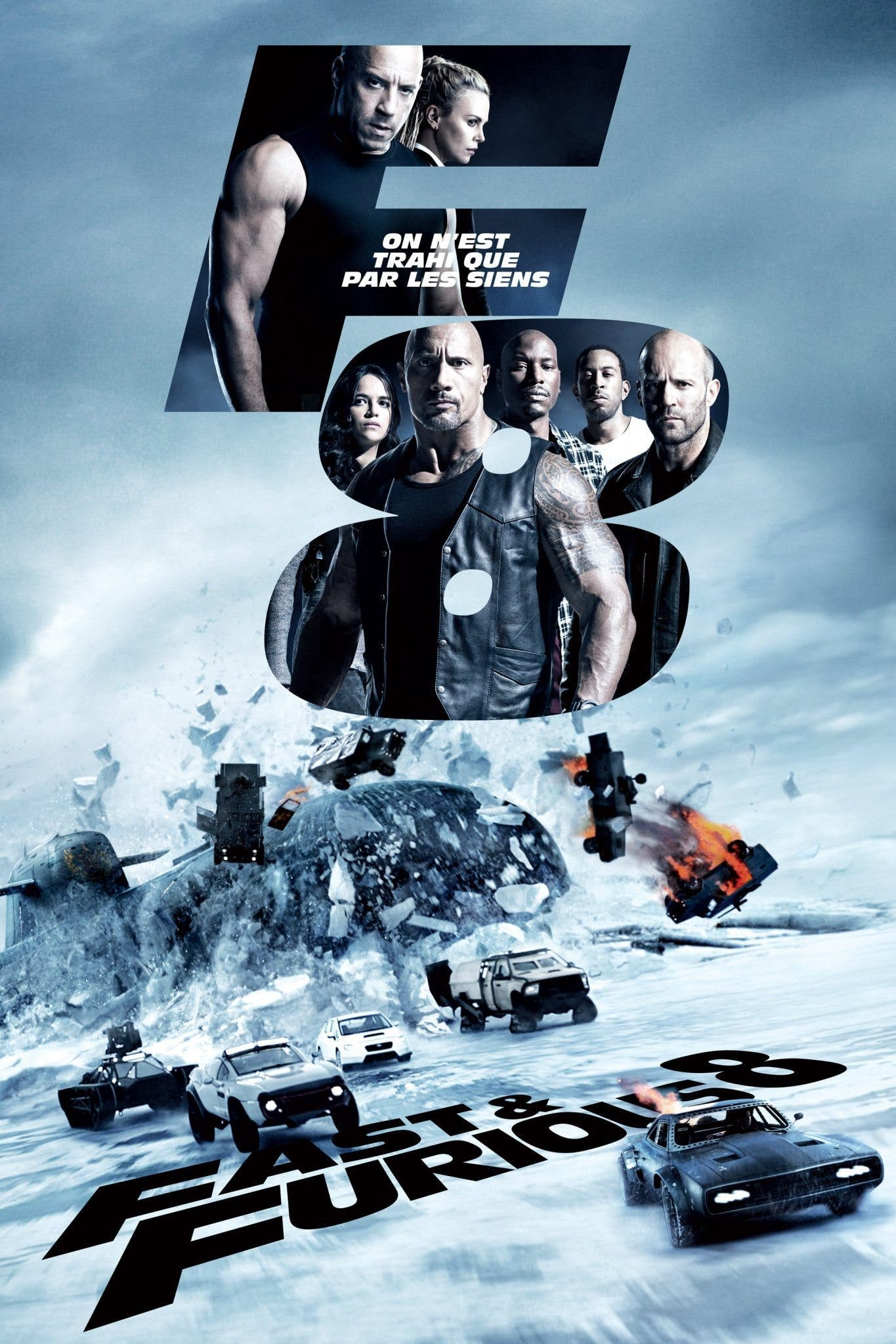 Poster de 'A Todo Gas 8 (Fast and Furious )'