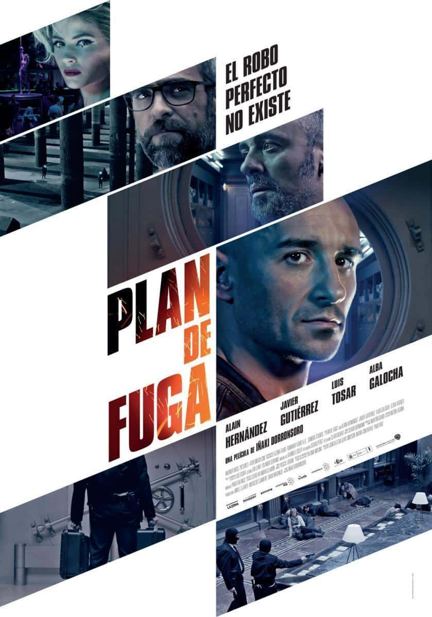 Poster de 'Plan de fuga'