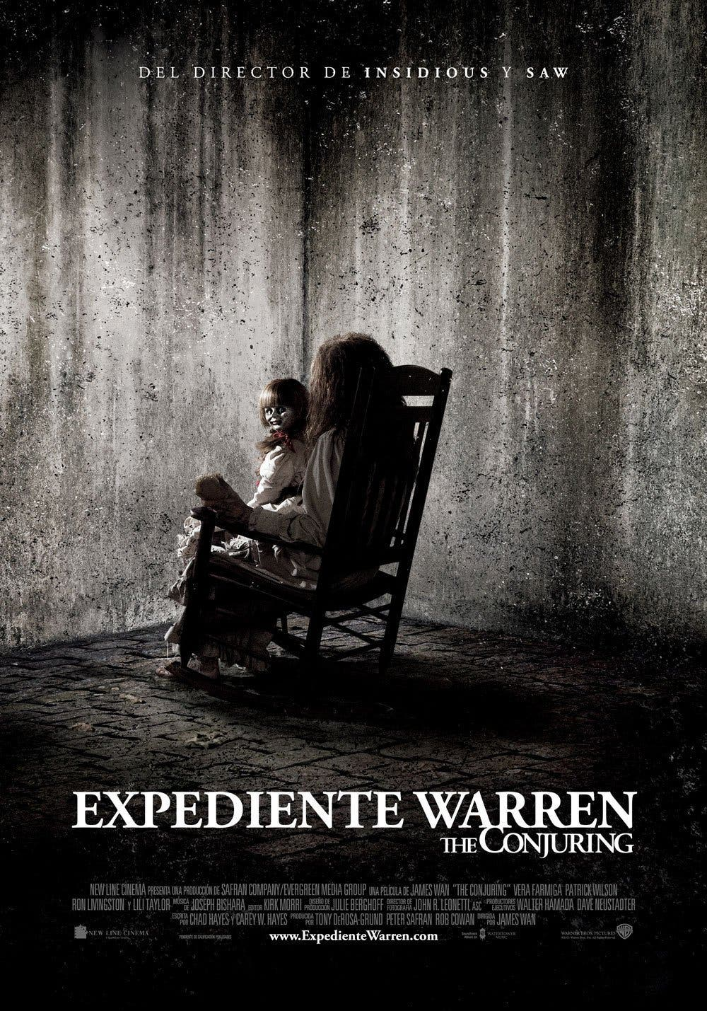 Poster de 'Expediente Warren: The Conjuring'