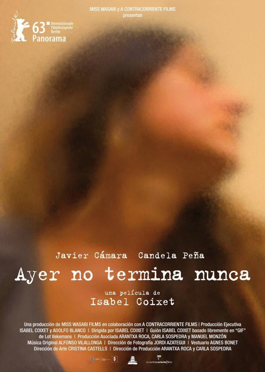 Poster de 'Ayer no termina nunca'