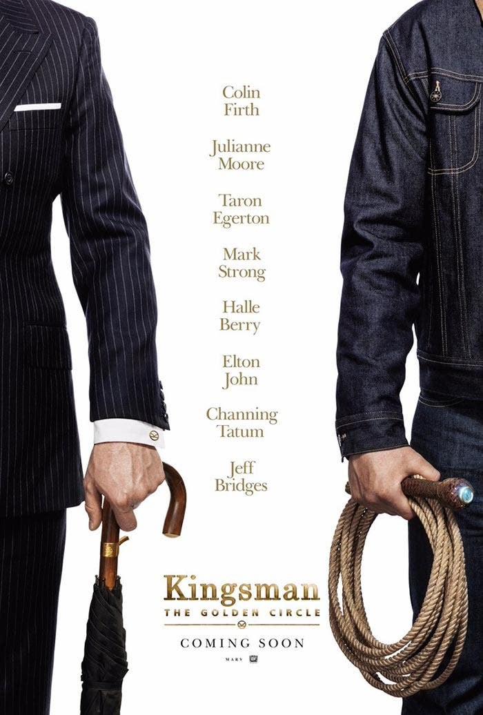 Sinopsis de Kingsman: El círculo dorado y primer póster oficial
