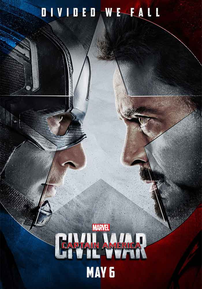 Póster Civil War