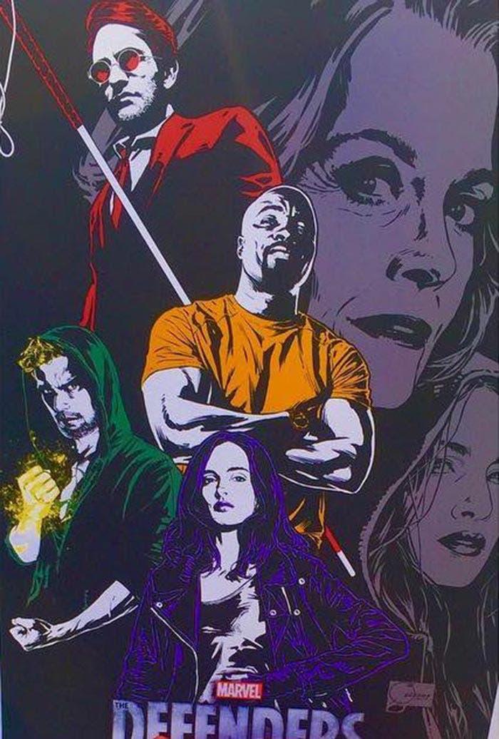 Filtrado el primer póster oficial de 'The Defenders' (Netflix)