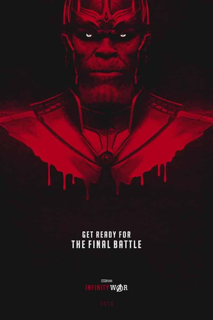 'Vengadores: Infinity War': El impresionante póster de Thanos (fan made)