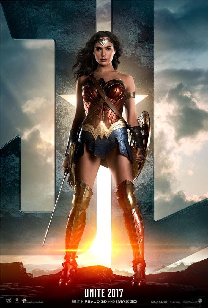 'Liga de la Justicia': Adelanto de Wonder Woman y póster espectacular
