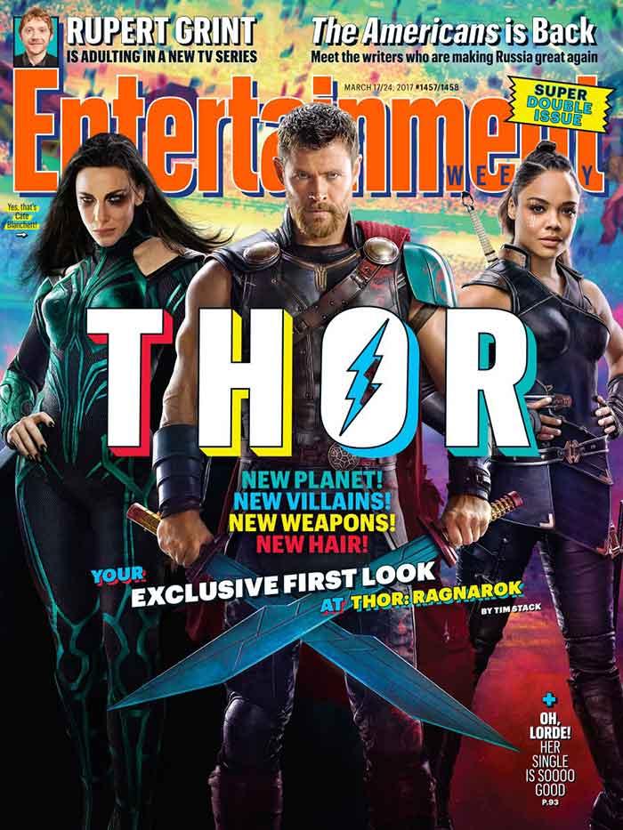 Polémica con la primera imagen oficial de 'Thor: Ragnarok'