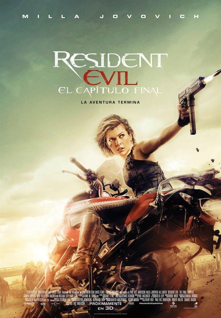 Poster de 'Resident Evil: El capítulo final'