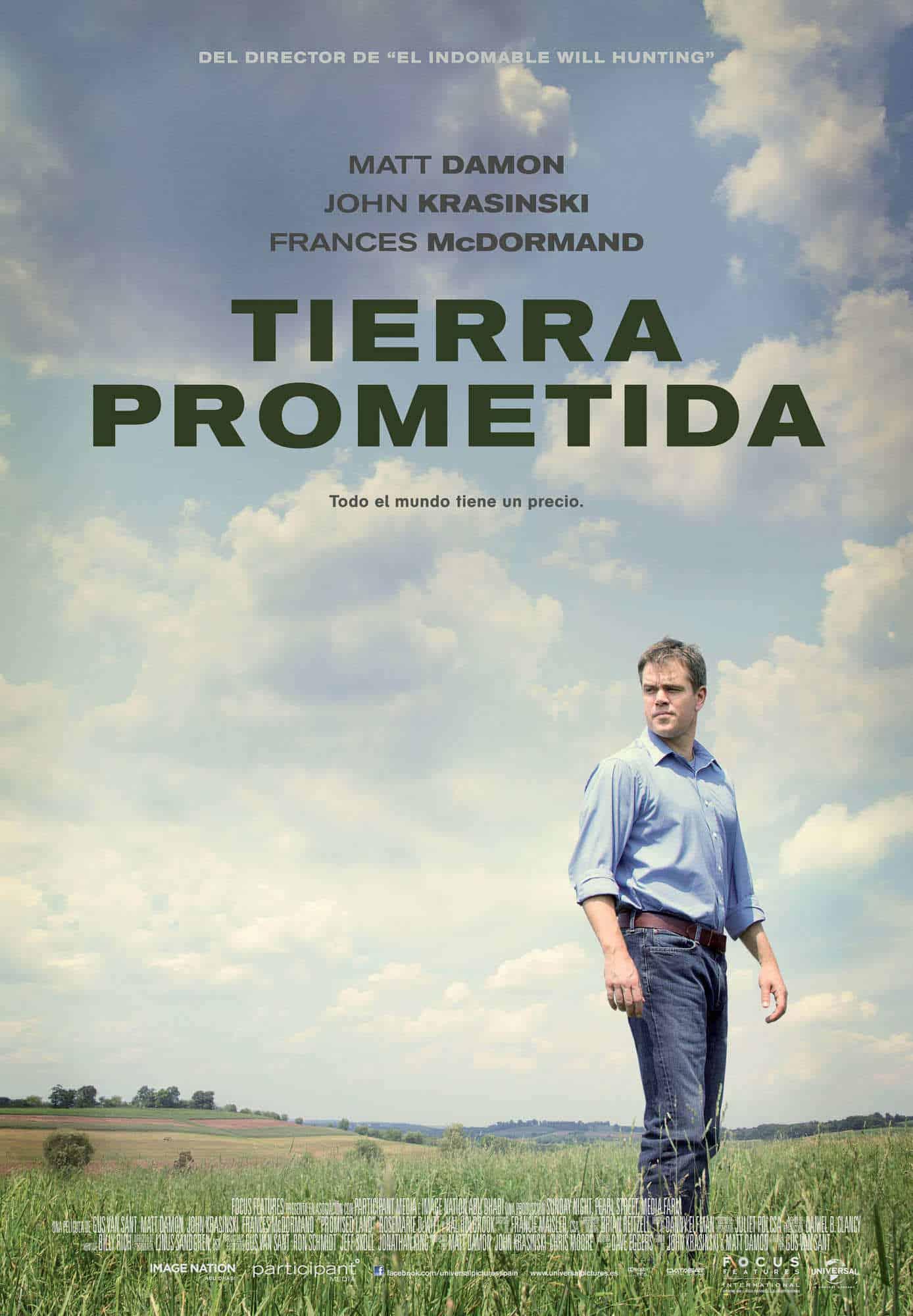 Poster de 'Tierra prometida'