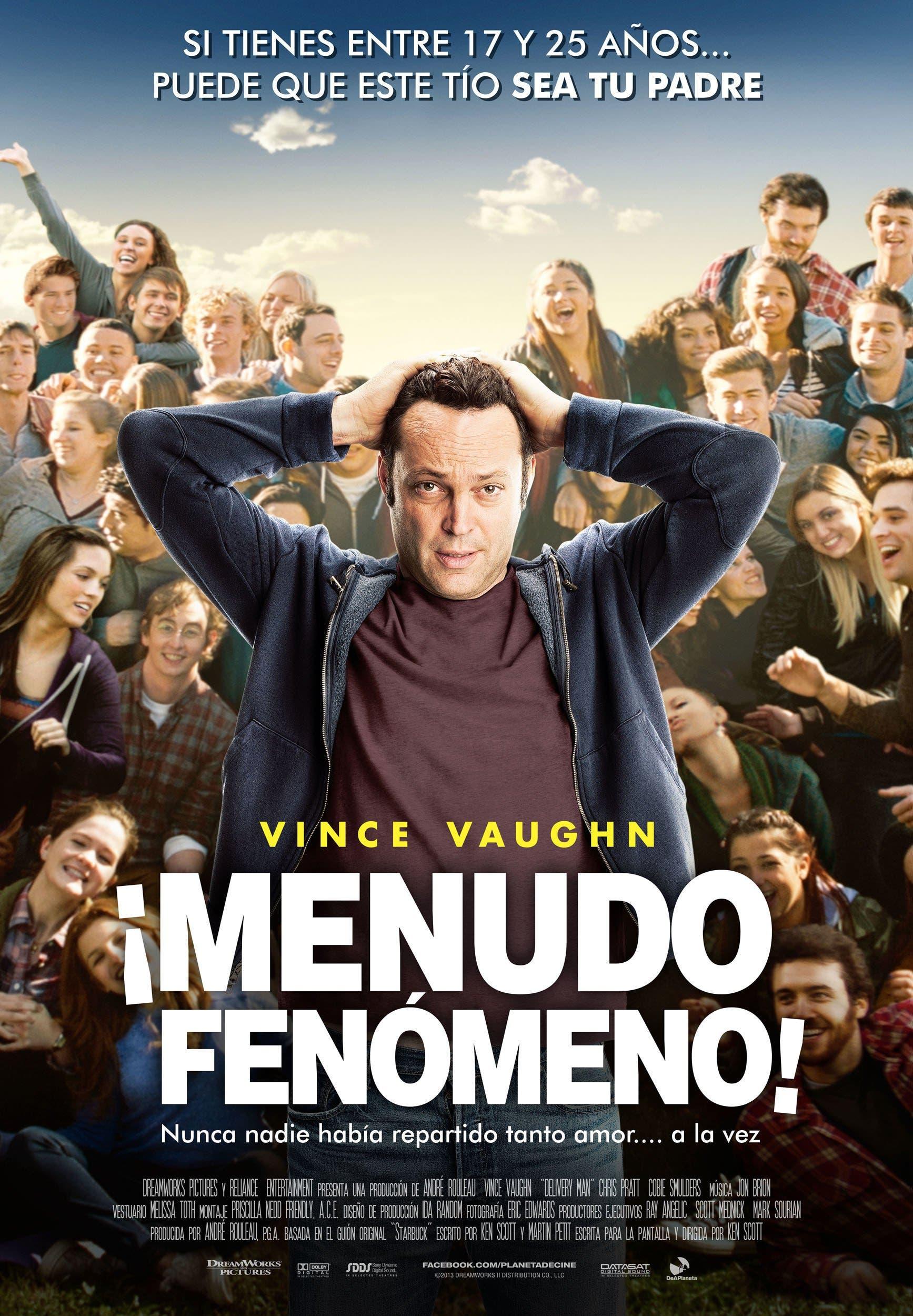 Poster de '¡Menudo fenómeno!'