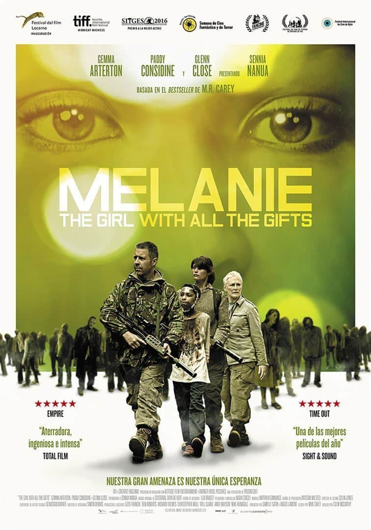 Poster de 'Melanie. The Girl With All the Gifts'