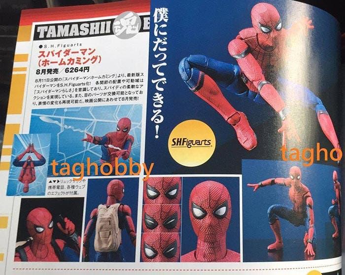 'Spider-Man: Homecoming': Imágenes de Spidey con mochila y móvil