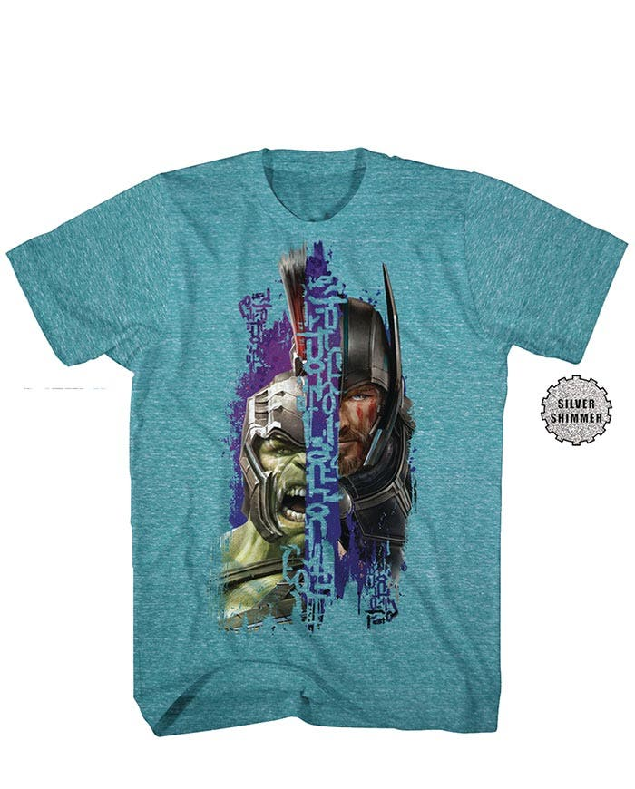 'Thor: Ragnarok': Primeras imágenes de Thor y Hulk como gladiadores