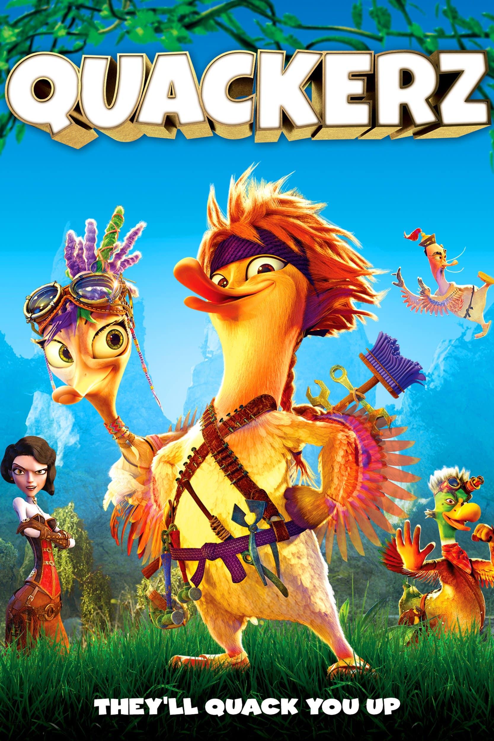 Poster de 'Quackerz'