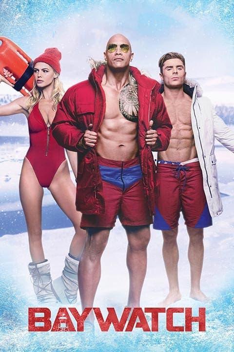 Poster de 'Baywatch Los vigilantes de la playa'