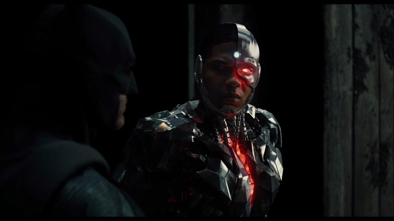 """Image from the movie """"La Liga de la Justicia"""""""