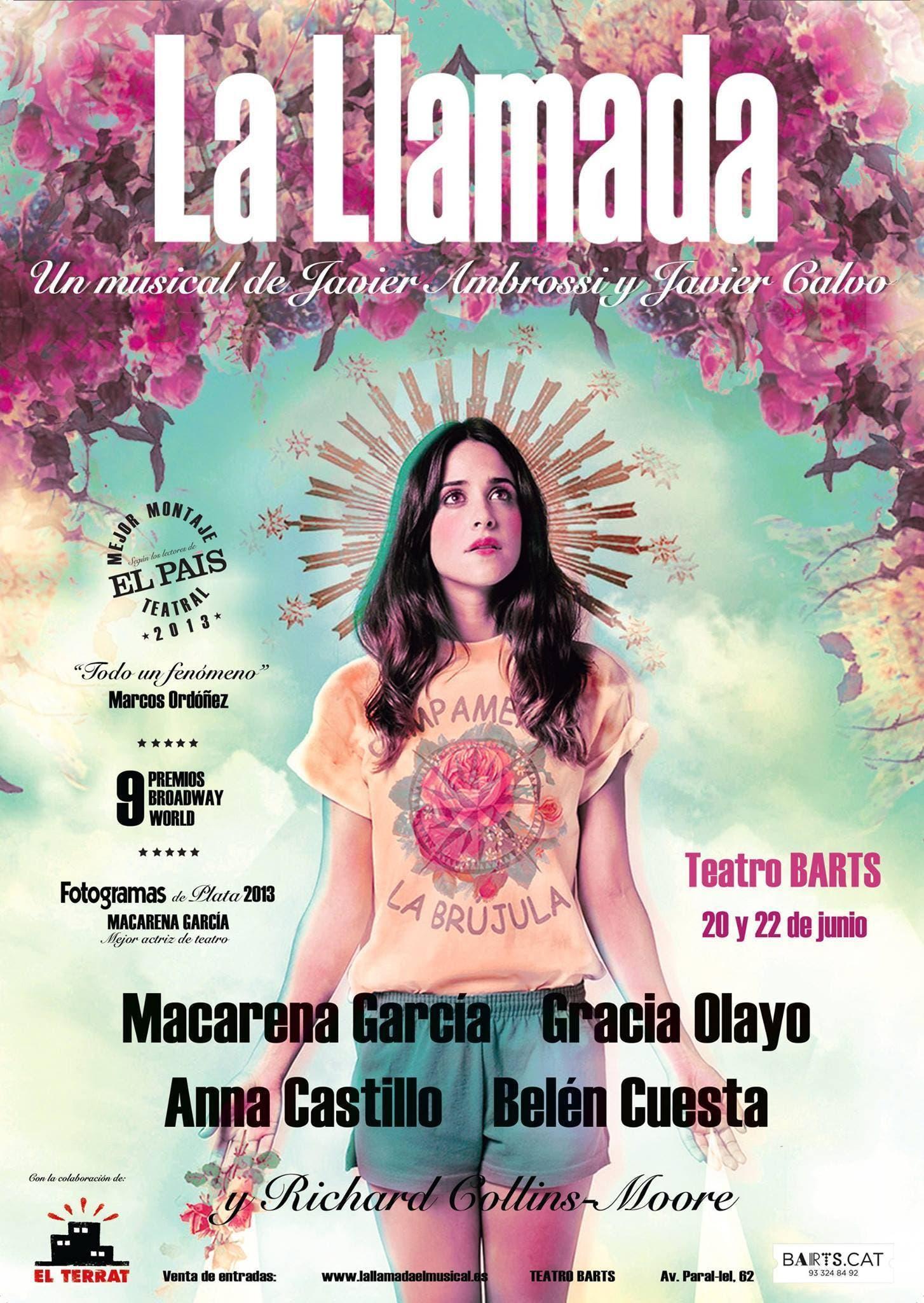 Poster de 'La Llamada'