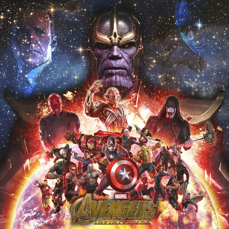Wallpaper de Vengadores: Infinity War