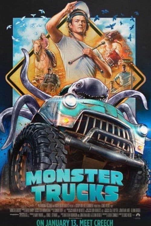 Poster de 'Monster Trucks'