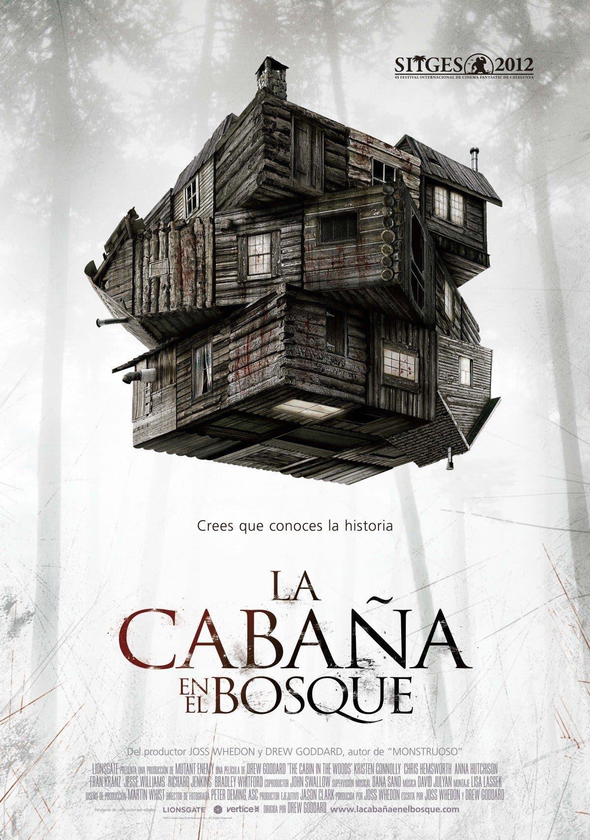 Poster de 'La cabaña en el bosque'