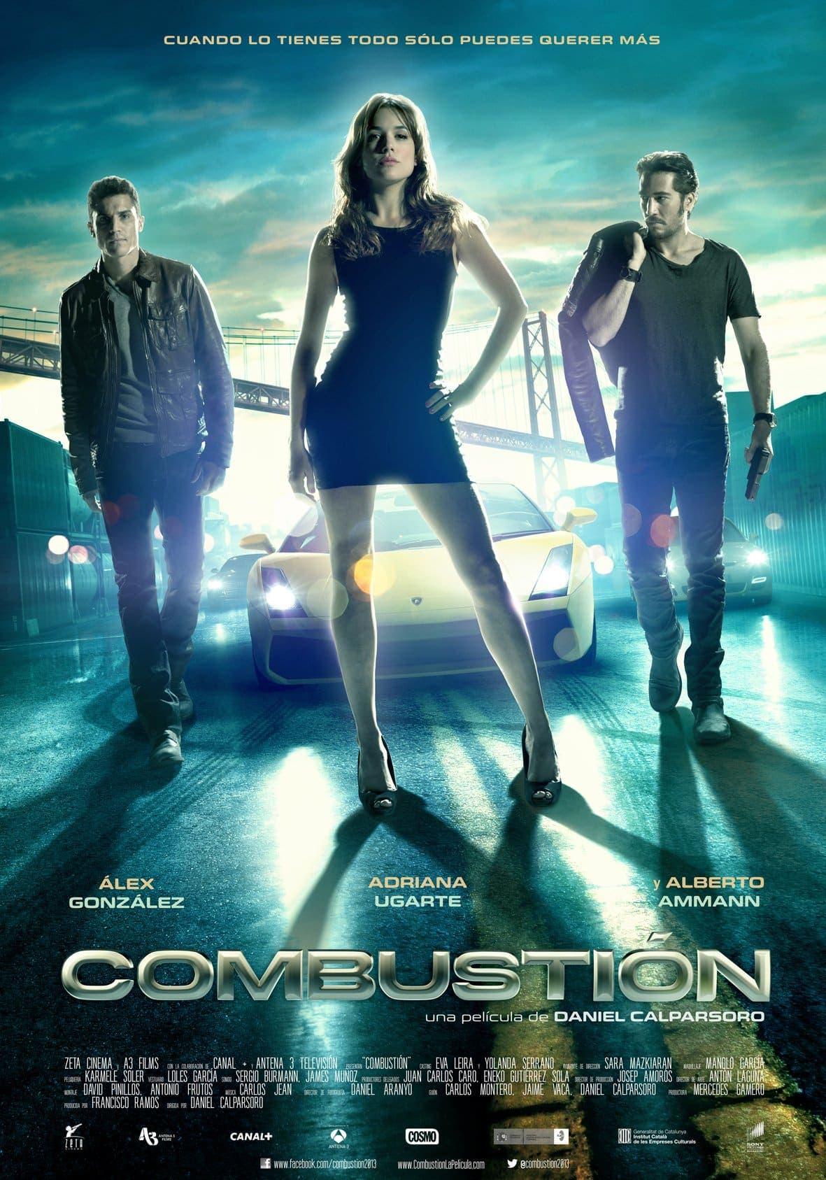 Poster de 'Combustión'
