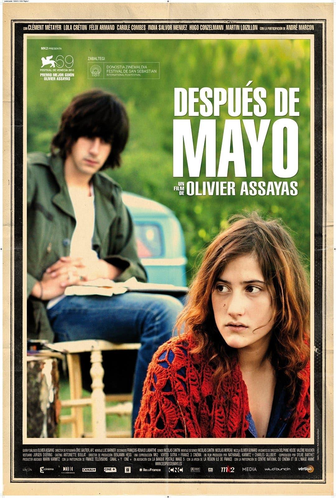 Poster de 'Después de mayo'