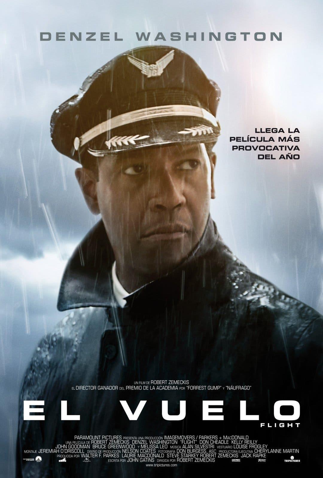 Poster de 'El vuelo'