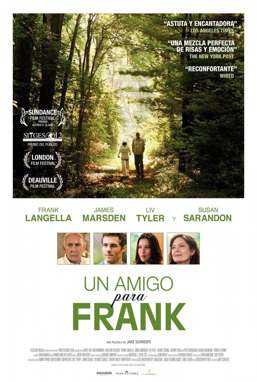 Poster de 'Un amigo para Frank'