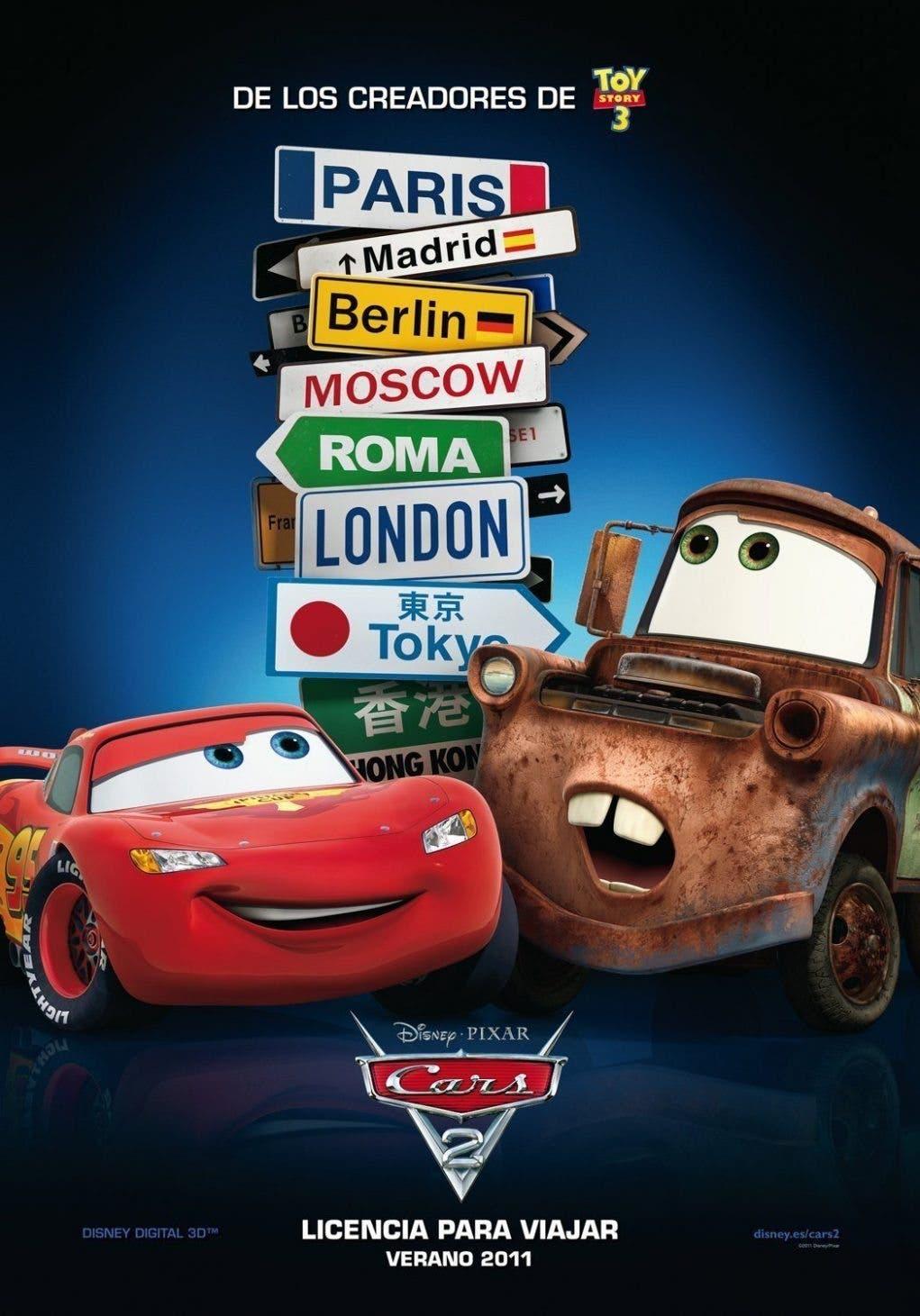 Poster de 'Cars 2'