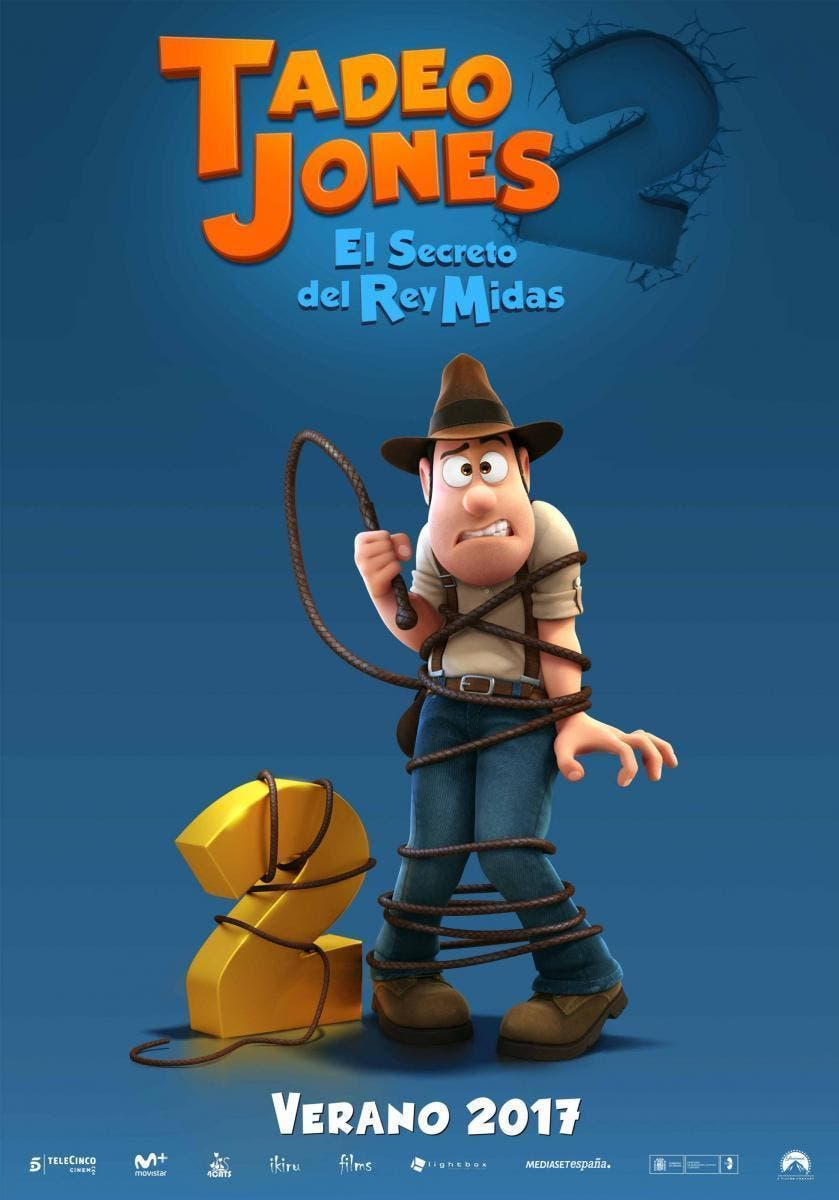 Poster de 'Tadeo Jones 2. El secreto del rey Midas'