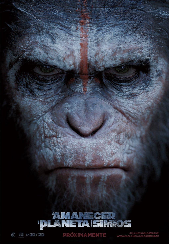 Poster de 'El amanecer del planeta de los simios'