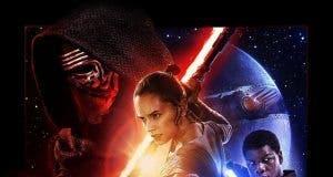 Poster de 'La guerra de las galaxias. Episodio VII: El despertar de la fuerza'