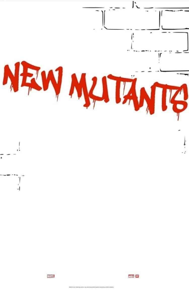 Poster de 'X-Men: The New Mutants'