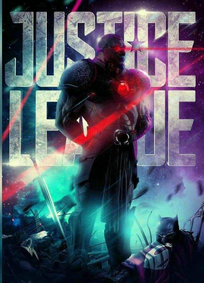 'Liga de la Justicia': Presentación de Darkseid en un póster fan made