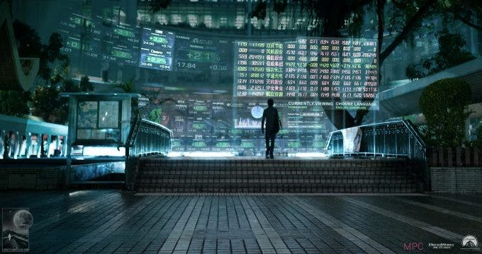 Concept art Ghost in the Shell