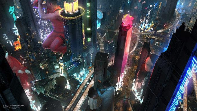 Ghost in the Shell Concept art