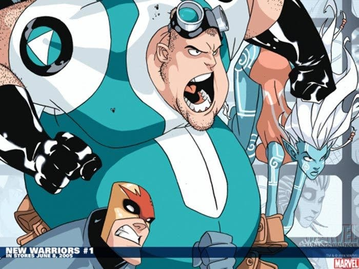 Microbe en 'New Warriors' (serie de Marvel)