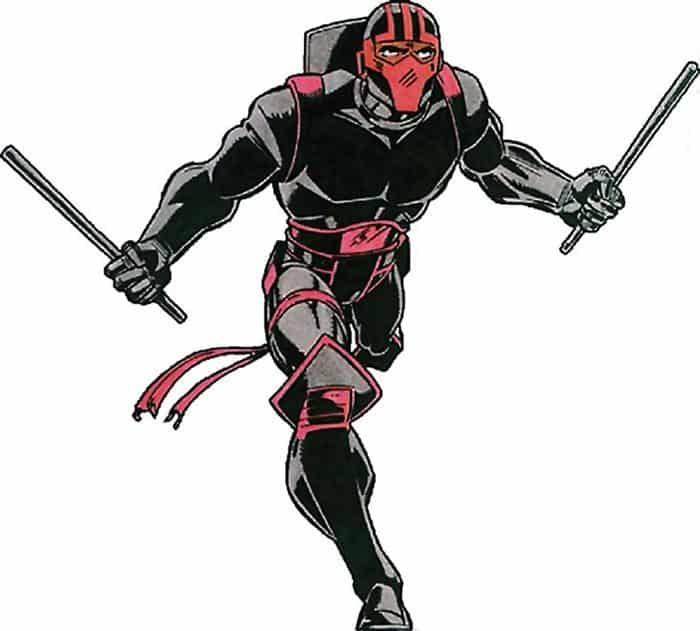 Night Thrasher en 'New Warriors' (serie de Marvel)