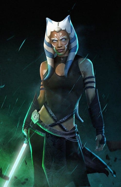 Rosario Dawson Ashoka Tano Star Wars