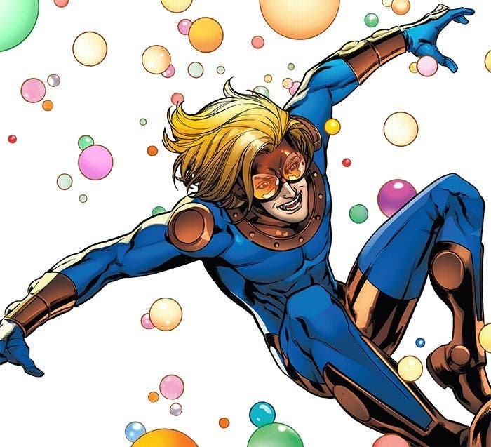 Speedball en 'New Warriors' (serie de Marvel)