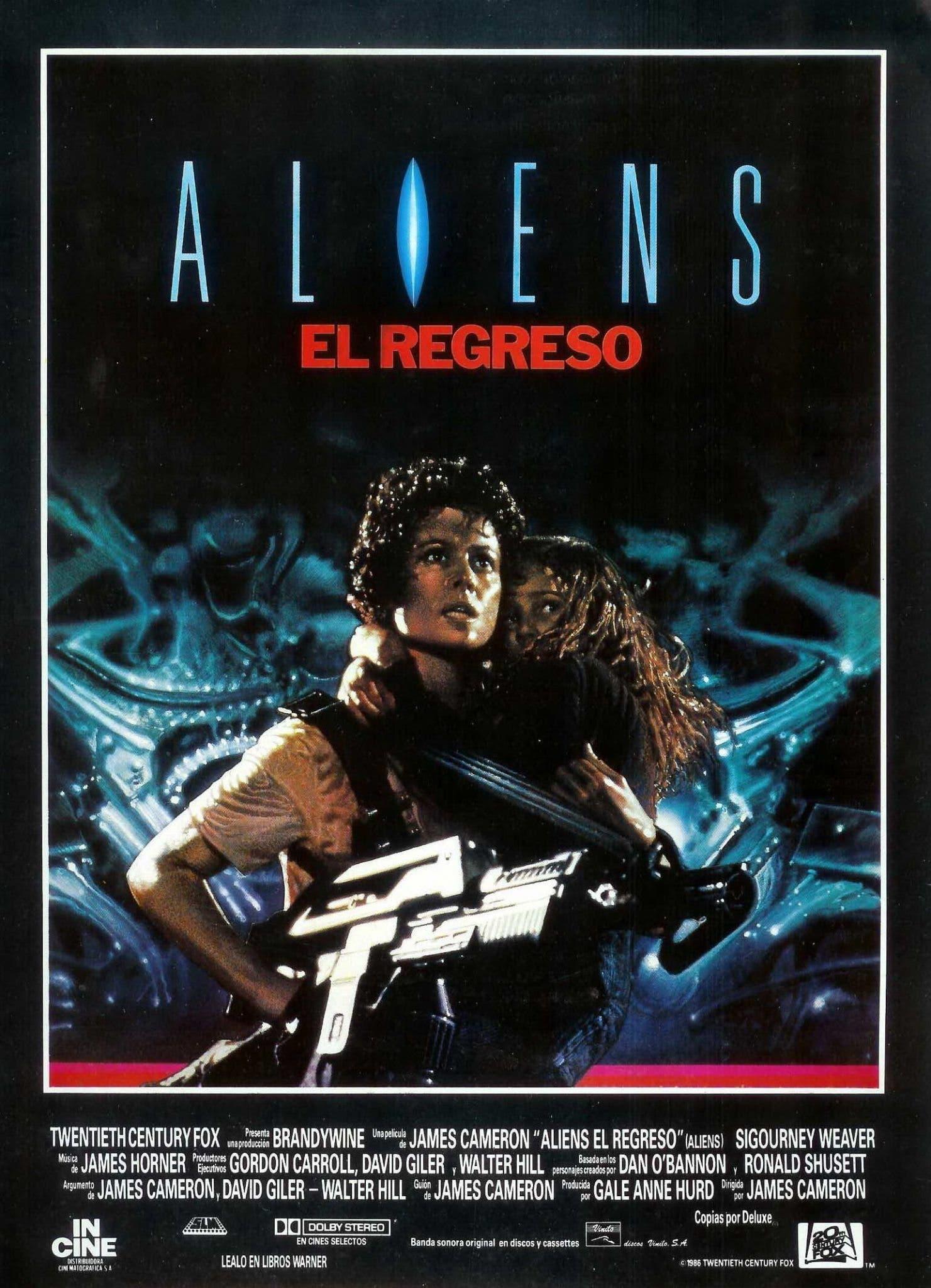Poster de 'Aliens (El regreso)'