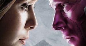 WandaVision. Visión y Bruja Escarlata en 'Vengadores: Infinity War'
