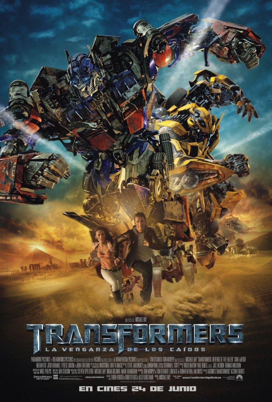 Poster de 'Transformers: La venganza de los caídos'
