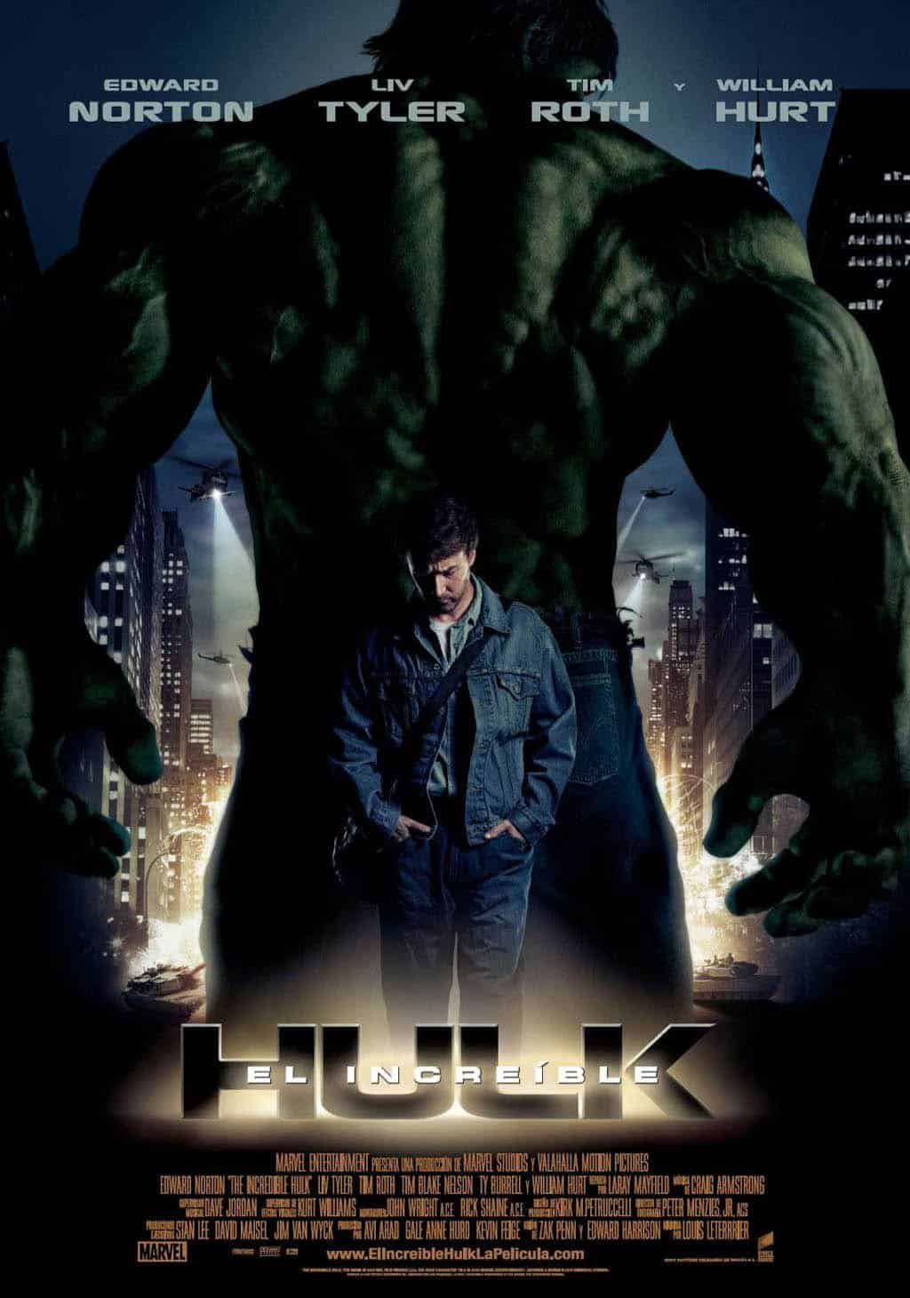Poster de 'El increíble Hulk'